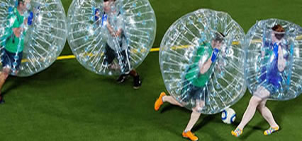 Newcastle Weekends - Bubble Football