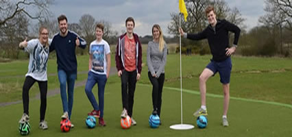 Newcastle Footgolf